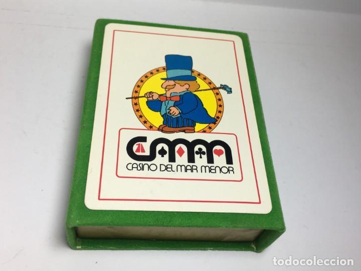 BARAJA DE POKER CASINO DEL MAR MENOR - PRECINTADA (Juguetes y Juegos - Cartas y Naipes - Barajas de Póker)