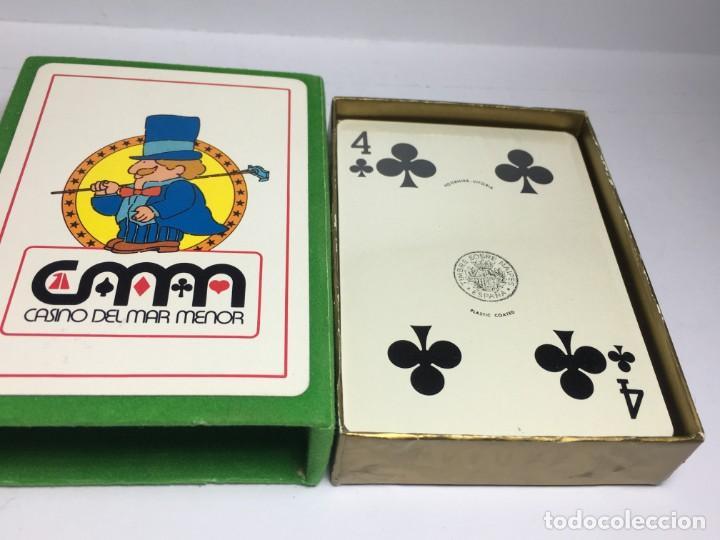 Barajas de cartas: BARAJA DE POKER CASINO DEL MAR MENOR - PRECINTADA - Foto 2 - 185274111