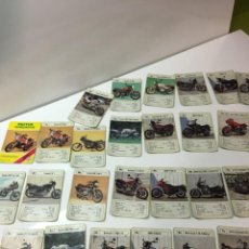 Barajas de cartas: JUEGO ANTIGUO DE CARTAS, MOTOS SUPERMOTOS DE HERACLIO FOURNIER,BARAJA, FEBER,CEFA,JUEGO INFANTIL. Lote 185655091