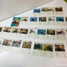 Barajas de cartas: JUEGO ANTIGUO DE CARTAS, MOTOS CROSS DE HERACLIO FOURNIER, BARAJA ,MB,FEBER,CEFA,JUEGO INFANTIL. Lote 185655115