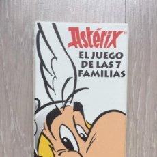 Barajas de cartas: BARAJA ASTERIX EL JUEGO DE LAS 7 FAMILIAS. SALVAT. AÑO 2012. PRECINTADA. SIN USO.. Lote 246448120