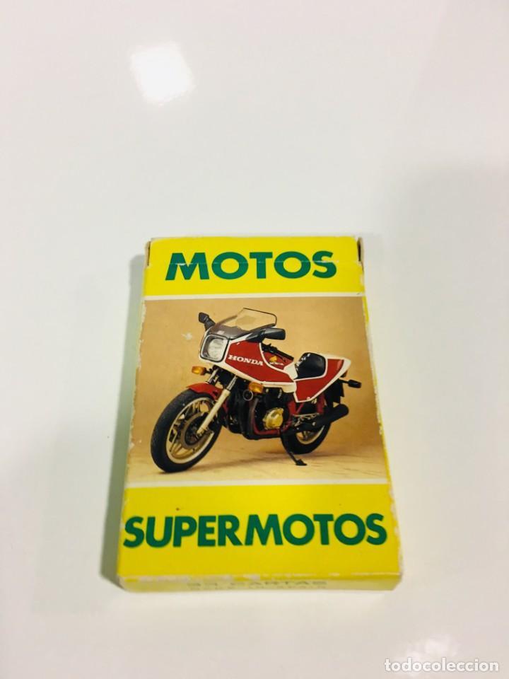 Barajas de cartas: Juego antiguo de cartas Motos Supermotos de heraclio, baraja infantil, baraja - Foto 2 - 185935335