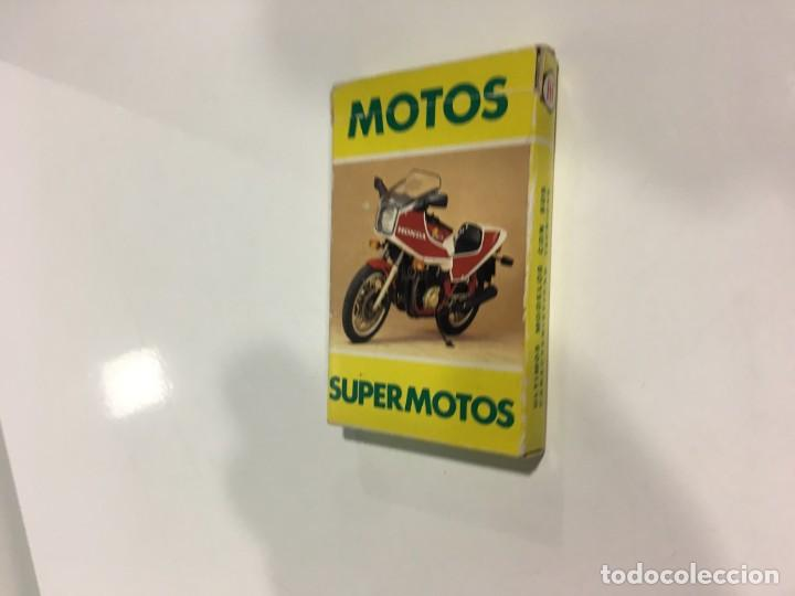 Barajas de cartas: Juego antiguo de cartas Motos Supermotos de heraclio, baraja infantil, baraja - Foto 3 - 185935335