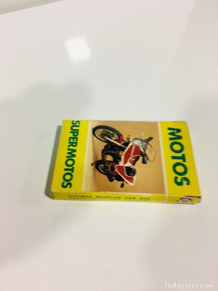 Barajas de cartas: Juego antiguo de cartas Motos Supermotos de heraclio, baraja infantil, baraja - Foto 4 - 185935335