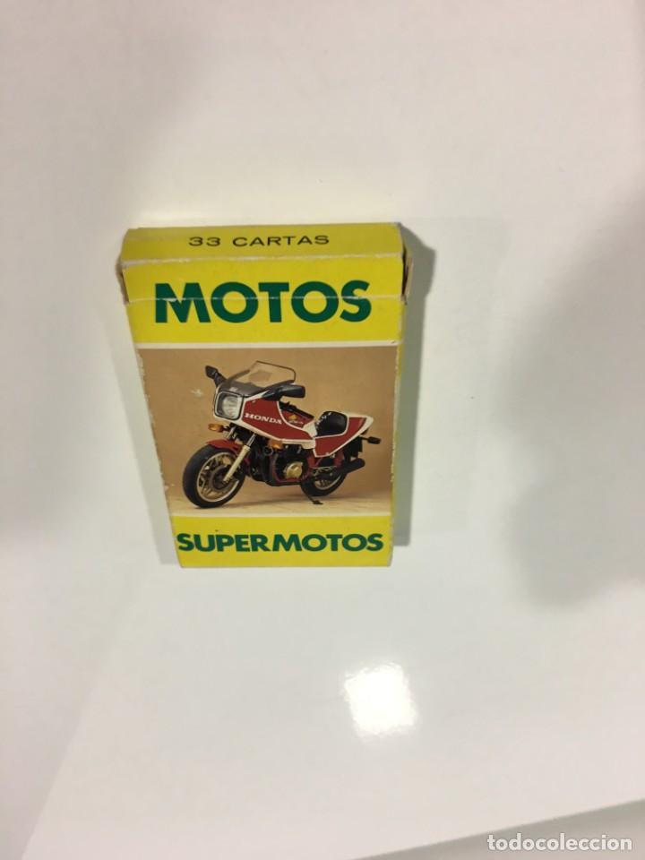 Barajas de cartas: Juego antiguo de cartas Motos Supermotos de heraclio, baraja infantil, baraja - Foto 5 - 185935335