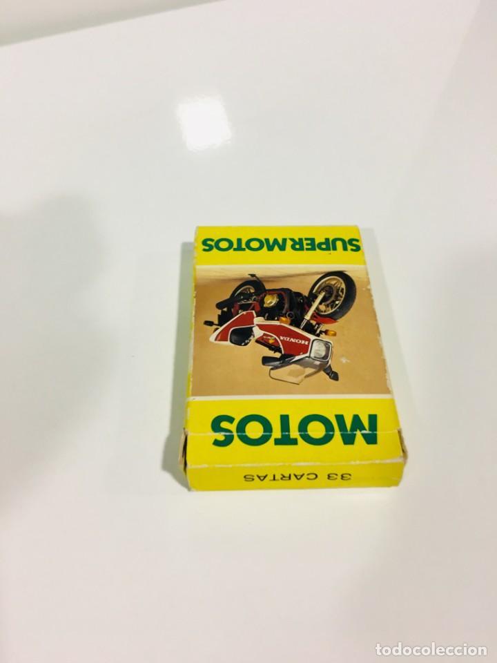 Barajas de cartas: Juego antiguo de cartas Motos Supermotos de heraclio, baraja infantil, baraja - Foto 6 - 185935335