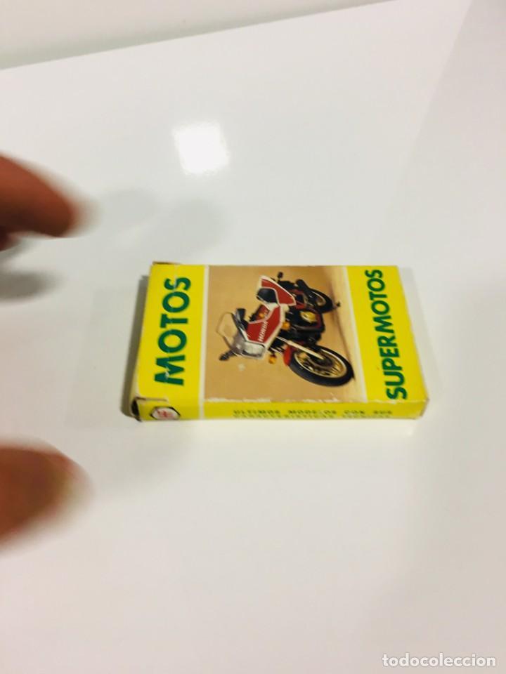 Barajas de cartas: Juego antiguo de cartas Motos Supermotos de heraclio, baraja infantil, baraja - Foto 7 - 185935335
