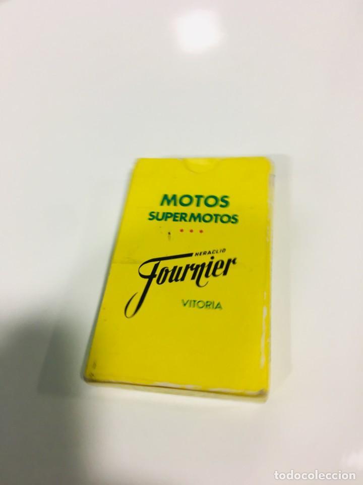Barajas de cartas: Juego antiguo de cartas Motos Supermotos de heraclio, baraja infantil, baraja - Foto 9 - 185935335