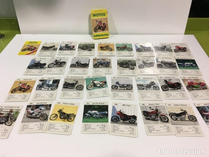 Barajas de cartas: Juego antiguo de cartas Motos Supermotos de heraclio, baraja infantil, baraja - Foto 10 - 185935335