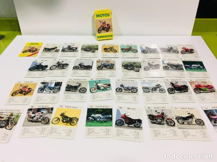 Barajas de cartas: Juego antiguo de cartas Motos Supermotos de heraclio, baraja infantil, baraja - Foto 11 - 185935335