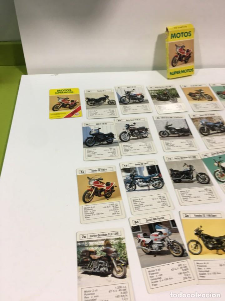 Barajas de cartas: Juego antiguo de cartas Motos Supermotos de heraclio, baraja infantil, baraja - Foto 12 - 185935335