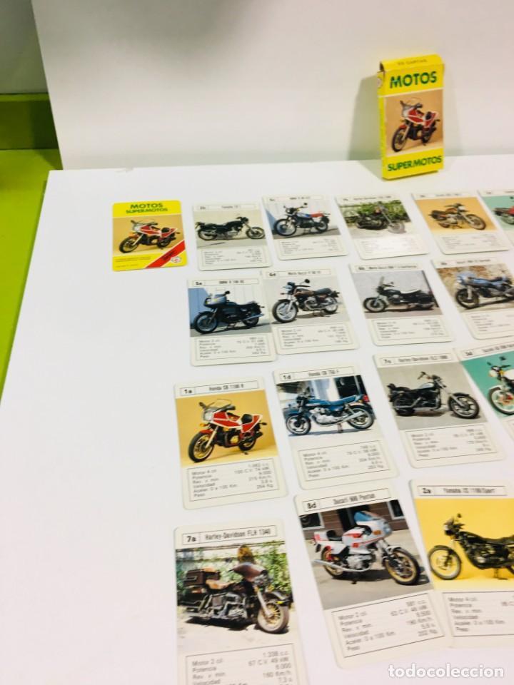 Barajas de cartas: Juego antiguo de cartas Motos Supermotos de heraclio, baraja infantil, baraja - Foto 13 - 185935335
