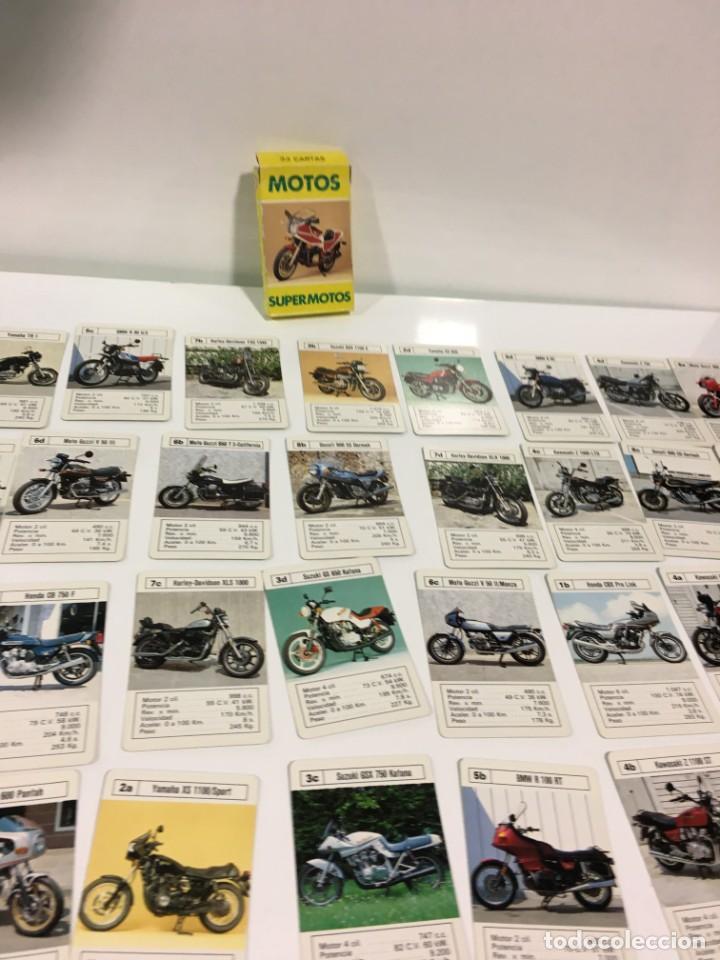 Barajas de cartas: Juego antiguo de cartas Motos Supermotos de heraclio, baraja infantil, baraja - Foto 14 - 185935335