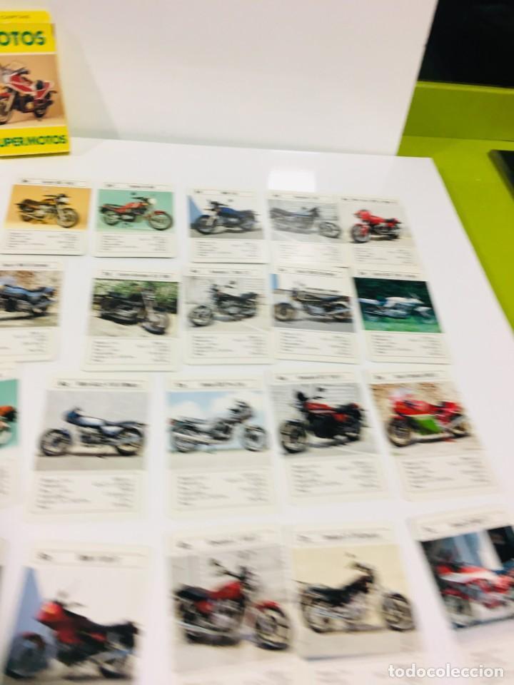 Barajas de cartas: Juego antiguo de cartas Motos Supermotos de heraclio, baraja infantil, baraja - Foto 16 - 185935335
