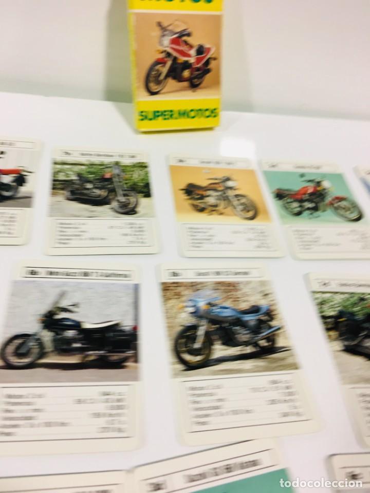 Barajas de cartas: Juego antiguo de cartas Motos Supermotos de heraclio, baraja infantil, baraja - Foto 18 - 185935335