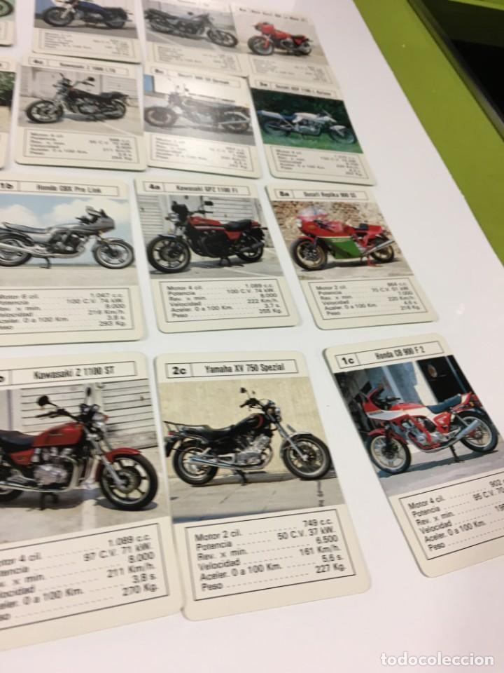 Barajas de cartas: Juego antiguo de cartas Motos Supermotos de heraclio, baraja infantil, baraja - Foto 21 - 185935335