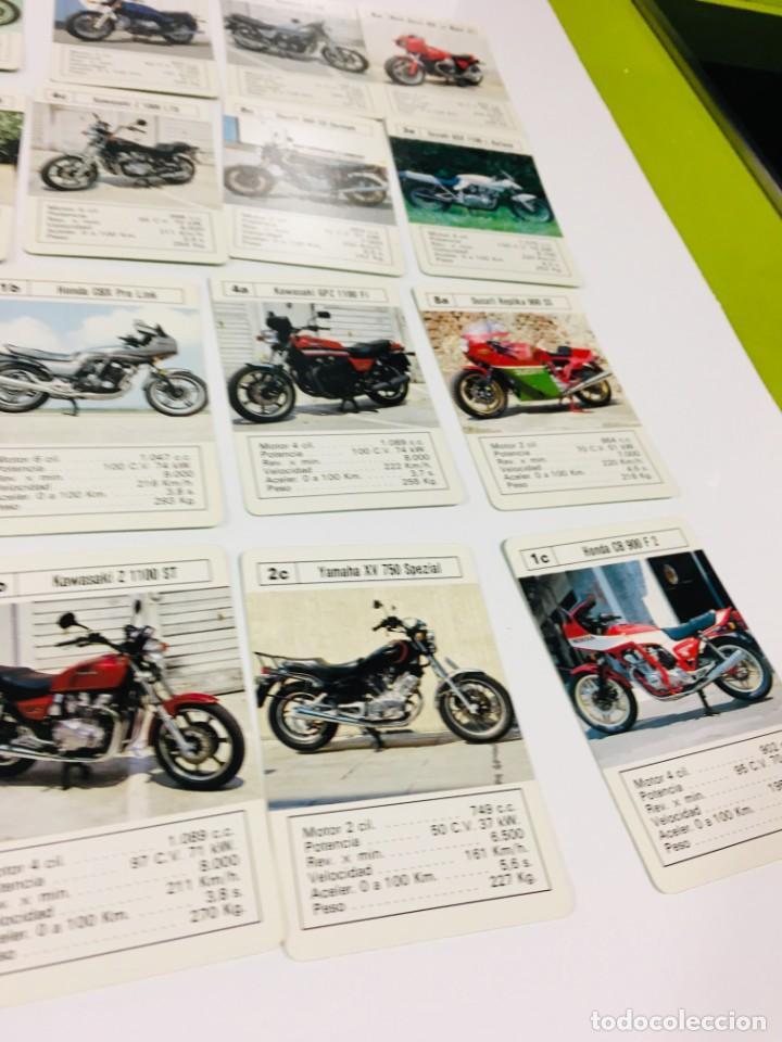 Barajas de cartas: Juego antiguo de cartas Motos Supermotos de heraclio, baraja infantil, baraja - Foto 22 - 185935335