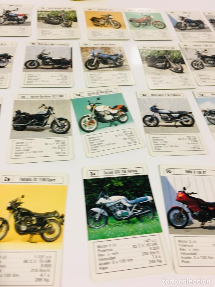 Barajas de cartas: Juego antiguo de cartas Motos Supermotos de heraclio, baraja infantil, baraja - Foto 23 - 185935335