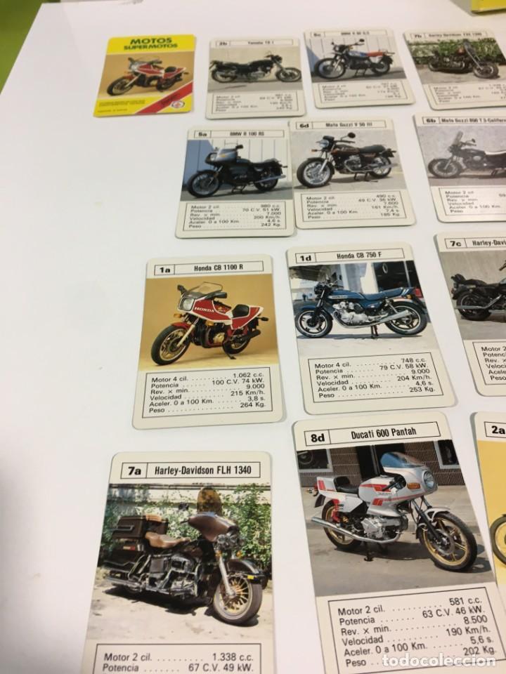 Barajas de cartas: Juego antiguo de cartas Motos Supermotos de heraclio, baraja infantil, baraja - Foto 24 - 185935335