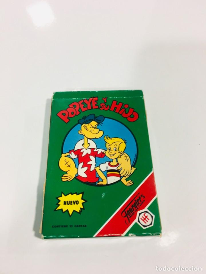 Barajas de cartas: Juego antiguo de cartas de Popeye e hijo de heraclio Fournier,feber,Juego infantil, baraja infantil, - Foto 2 - 185935676
