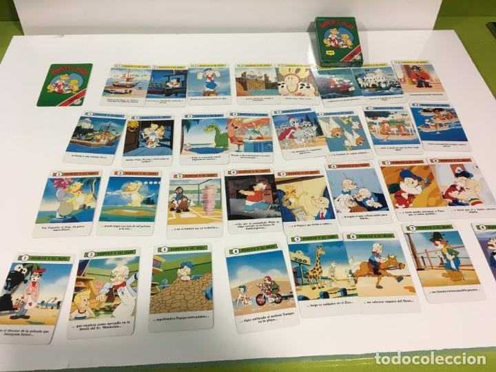 Barajas de cartas: Juego antiguo de cartas de Popeye e hijo de heraclio Fournier,feber,Juego infantil, baraja infantil, - Foto 10 - 185935676