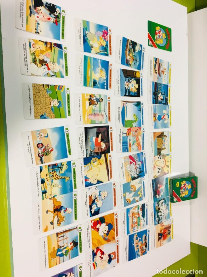 Barajas de cartas: Juego antiguo de cartas de Popeye e hijo de heraclio Fournier,feber,Juego infantil, baraja infantil, - Foto 11 - 185935676