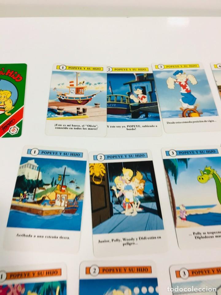 Barajas de cartas: Juego antiguo de cartas de Popeye e hijo de heraclio Fournier,feber,Juego infantil, baraja infantil, - Foto 13 - 185935676