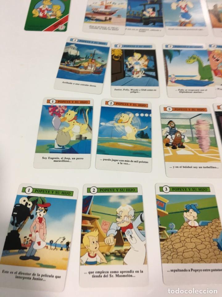 Barajas de cartas: Juego antiguo de cartas de Popeye e hijo de heraclio Fournier,feber,Juego infantil, baraja infantil, - Foto 14 - 185935676