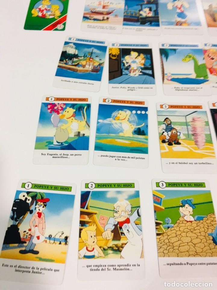 Barajas de cartas: Juego antiguo de cartas de Popeye e hijo de heraclio Fournier,feber,Juego infantil, baraja infantil, - Foto 15 - 185935676