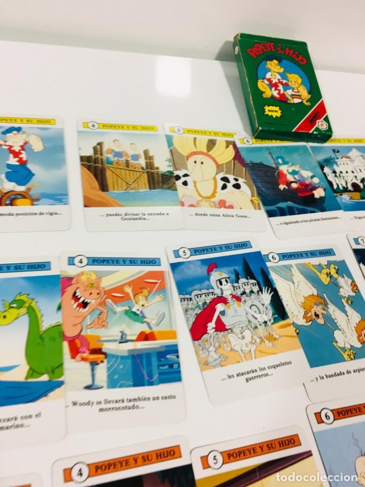 Barajas de cartas: Juego antiguo de cartas de Popeye e hijo de heraclio Fournier,feber,Juego infantil, baraja infantil, - Foto 17 - 185935676