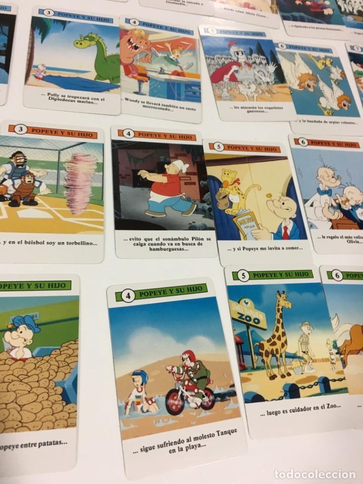 Barajas de cartas: Juego antiguo de cartas de Popeye e hijo de heraclio Fournier,feber,Juego infantil, baraja infantil, - Foto 18 - 185935676