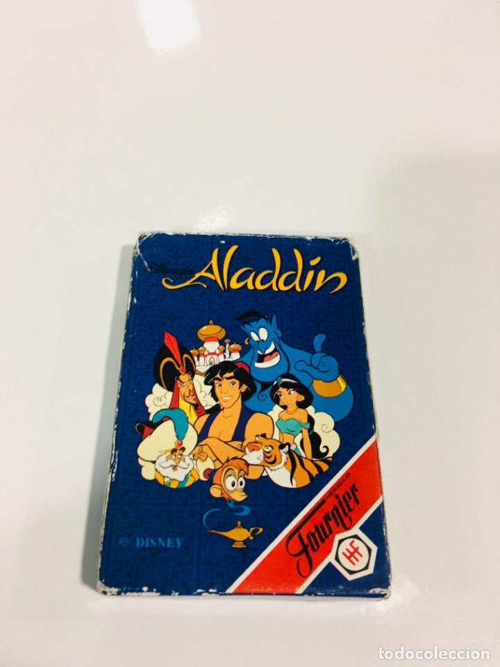 Barajas de cartas: Juego antiguo de cartas Aladdin, aladin, baraja, aladino de heraclio baraja infantil - Foto 2 - 185935740