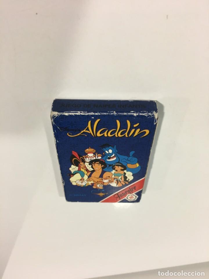 Barajas de cartas: Juego antiguo de cartas Aladdin, aladin, baraja, aladino de heraclio baraja infantil - Foto 5 - 185935740