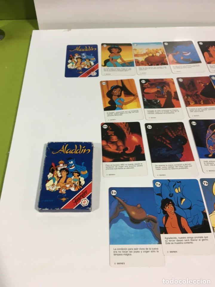 Barajas de cartas: Juego antiguo de cartas Aladdin, aladin, baraja, aladino de heraclio baraja infantil - Foto 12 - 185935740