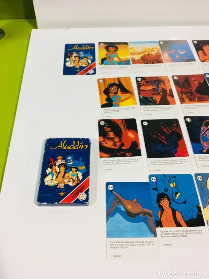 Barajas de cartas: Juego antiguo de cartas Aladdin, aladin, baraja, aladino de heraclio baraja infantil - Foto 13 - 185935740