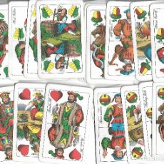 Mazzi di carte: RARA BARAJA DE HUNGRIA USADA EN BUEN ESTADO . Lote 186291050