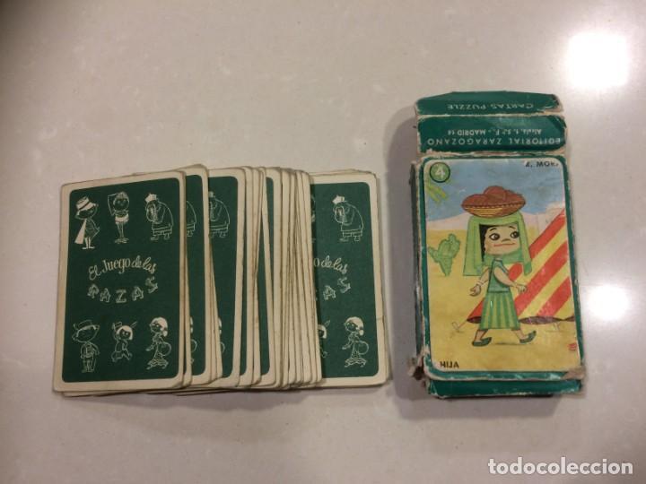 Barajas de cartas: BARAJA EL JUEGO DE LAS RAZAS - EDITORIAL ZARAGOZANO - Foto 4 - 186319732