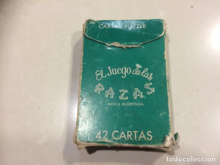 Barajas de cartas: BARAJA EL JUEGO DE LAS RAZAS - EDITORIAL ZARAGOZANO - Foto 5 - 186319732