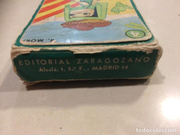 Barajas de cartas: BARAJA EL JUEGO DE LAS RAZAS - EDITORIAL ZARAGOZANO - Foto 7 - 186319732