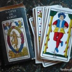 Barajas de cartas: BARAJA DE NAIPES DE TAROT AÑOS 1980 EN SU CAJA. Lote 186322237