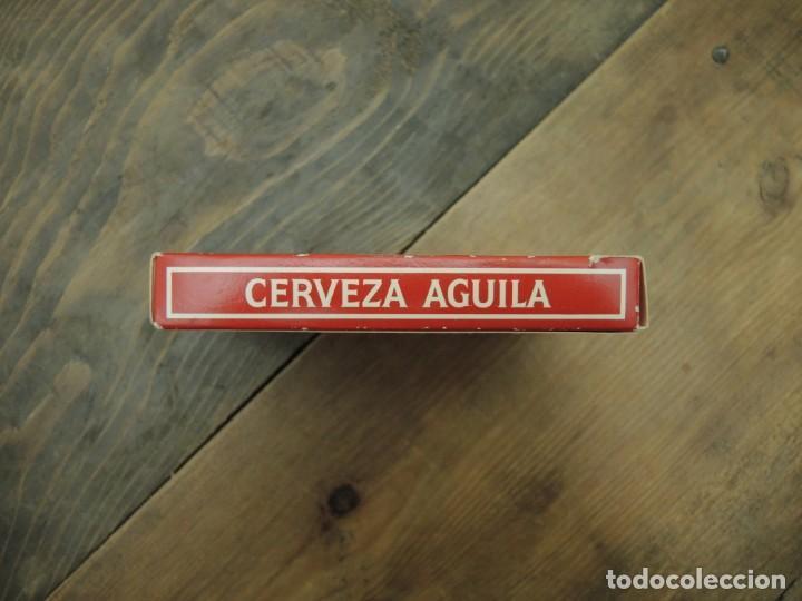 Barajas de cartas: BARAJA DE CARTAS ESPAÑOLA (50 NAIPES), HERACLIO FOURNIER, CERVEZAS EL ÁGUILA, DÉCADA 1990 - Foto 7 - 186346228