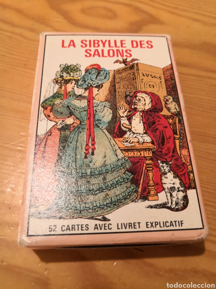 LA SIBYLLE DES SALONS TAROT (Juguetes y Juegos - Cartas y Naipes - Barajas Tarot)