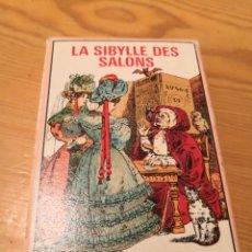 Barajas de cartas: LA SIBYLLE DES SALONS TAROT. Lote 186418892