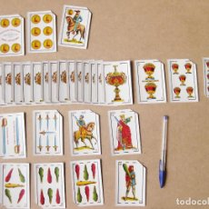 Barajas de cartas: BARAJA ESPAÑOLA CON CARTAS REPETIDAS PARA MAGIA - NAIPES AÑOS 50. Lote 186428895