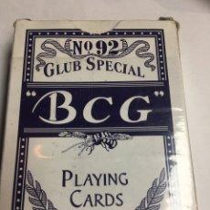Barajas de cartas: BARAJA DE CARTAS BCG - COMPLETA 54 CARTAS - GLUB SPECIAL Nº92 - MADE IN CHINA . Lote 186634558
