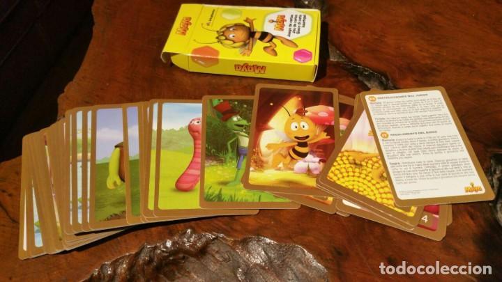 BARAJA CARTAS ABEJA MAYA ARKOPHARMA TOTALMENTE NUEVA Y COMPLETA. (Juguetes y Juegos - Cartas y Naipes - Barajas Infantiles)