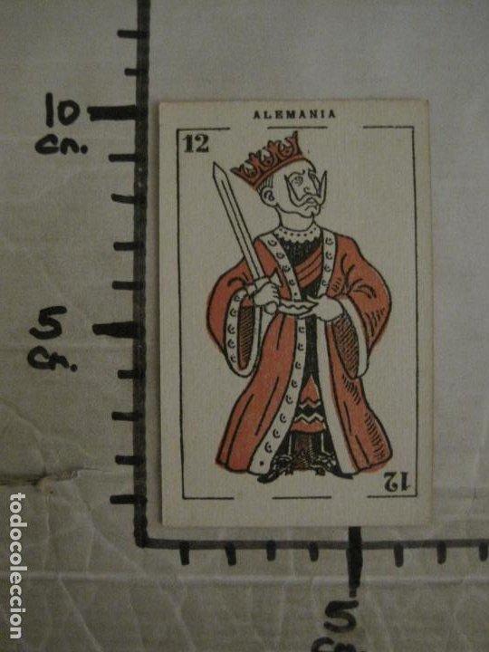 Barajas de cartas: GUERRA EUROPEA-¿QUIEN GANARA?-BARAJA DE 6 CARTAS Y 1 DE EXPLICACION-VER FOTOS-(V-18.609) - Foto 19 - 187212698