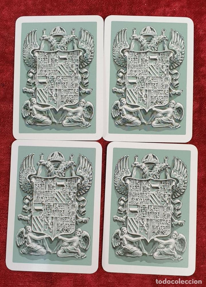 Barajas de cartas: PAREJA DE JUEGO DE CARTAS. MONUMENTOS DE ESPAÑA. HERACLIO FOURNIER. 1959. - Foto 6 - 187289310
