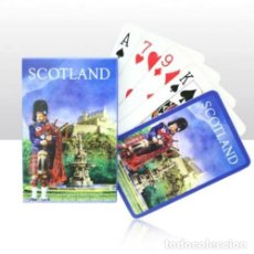 Barajas de cartas: LOTE BARAJA DE POKER EDINBURGH SCOTLAND PLAYING CARDS. Lote 187440365