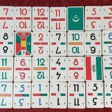 Barajas de cartas: JUEGO DE 41 CARTAS. ESPAÑA Y SUS BANDERAS. HERMANOS DE FOURNIER. CICA 1940. . Lote 187571421